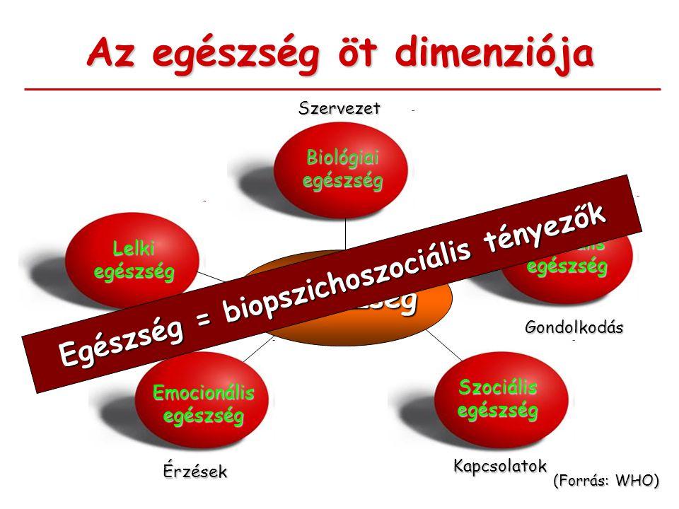 Az egészség öt dimenziója