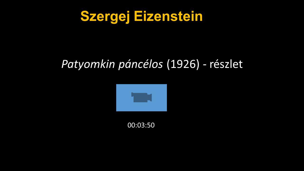 Patyomkin páncélos (1926) - részlet