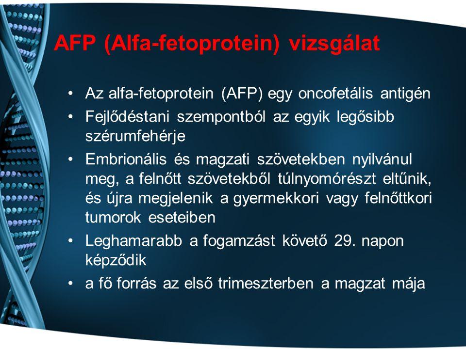 AFP (Alfa-fetoprotein) vizsgálat