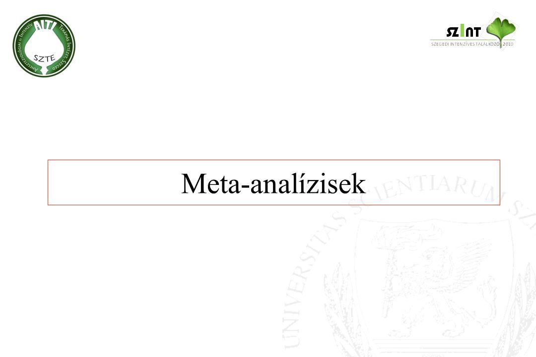 Meta-analízisek