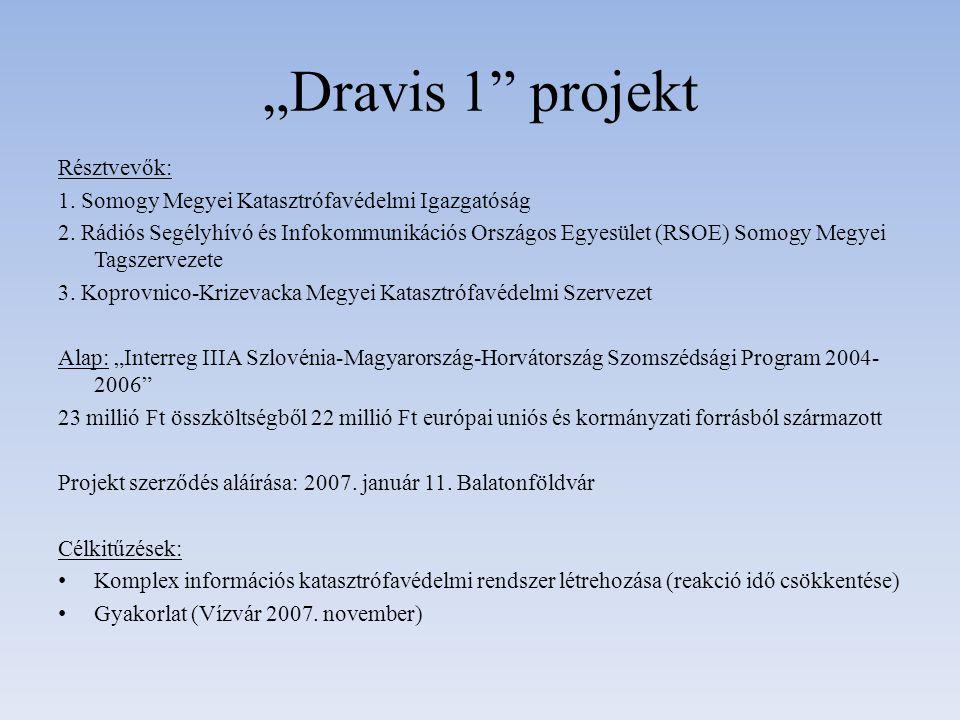 """""""Dravis 1 projekt Résztvevők:"""