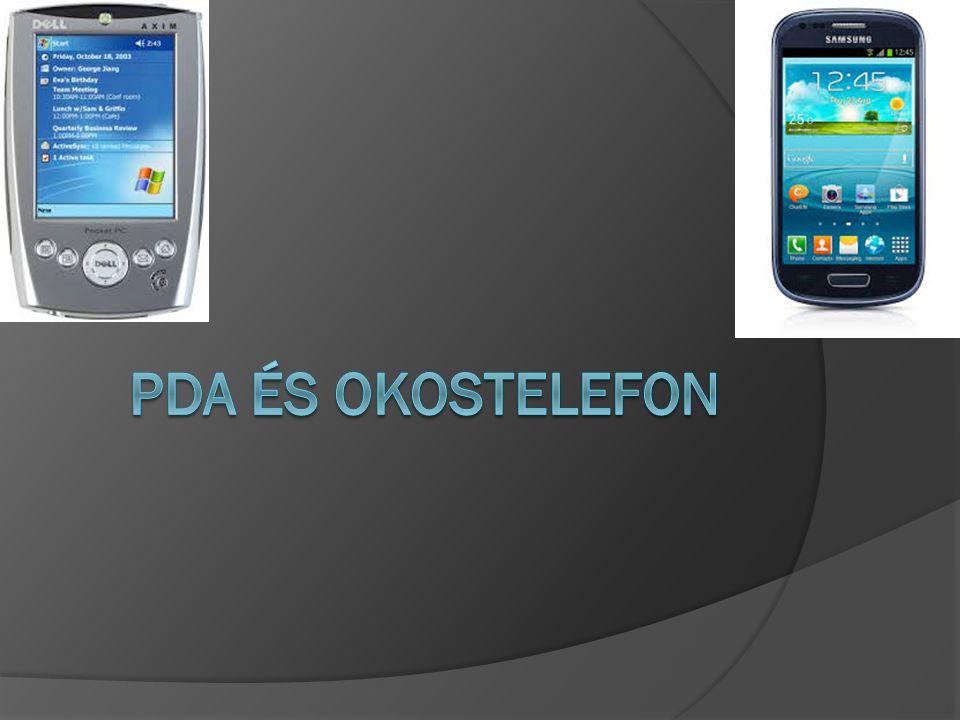 PDA és Okostelefon