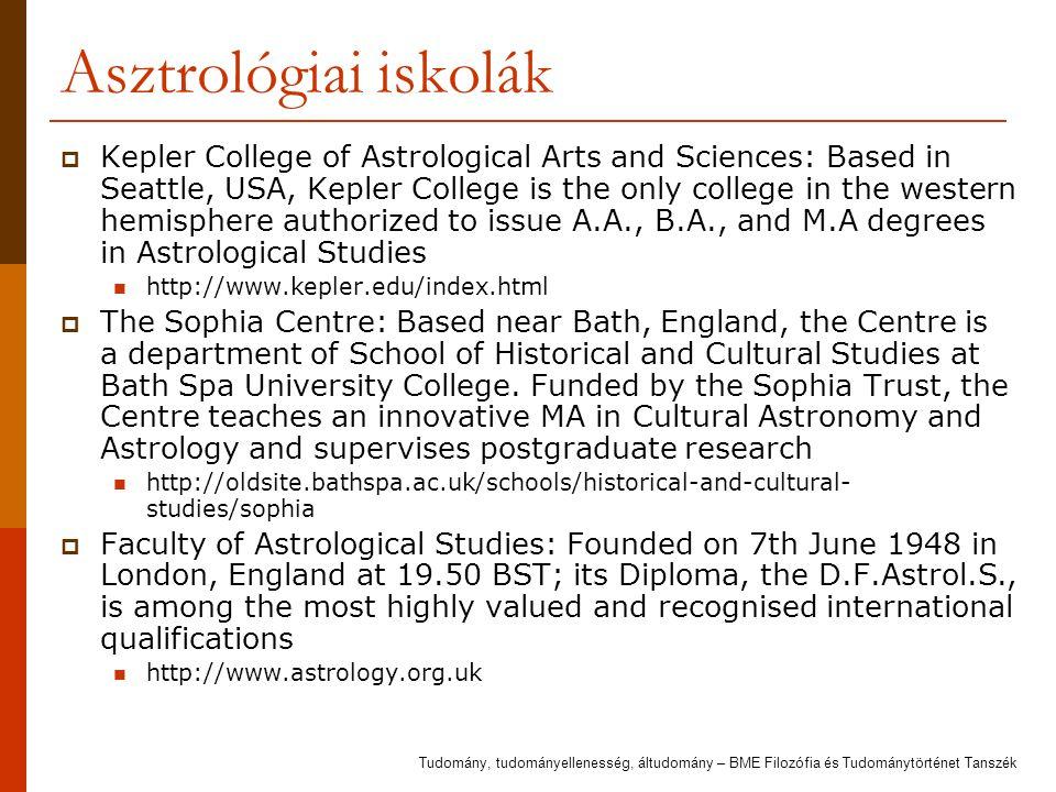 Asztrológiai iskolák