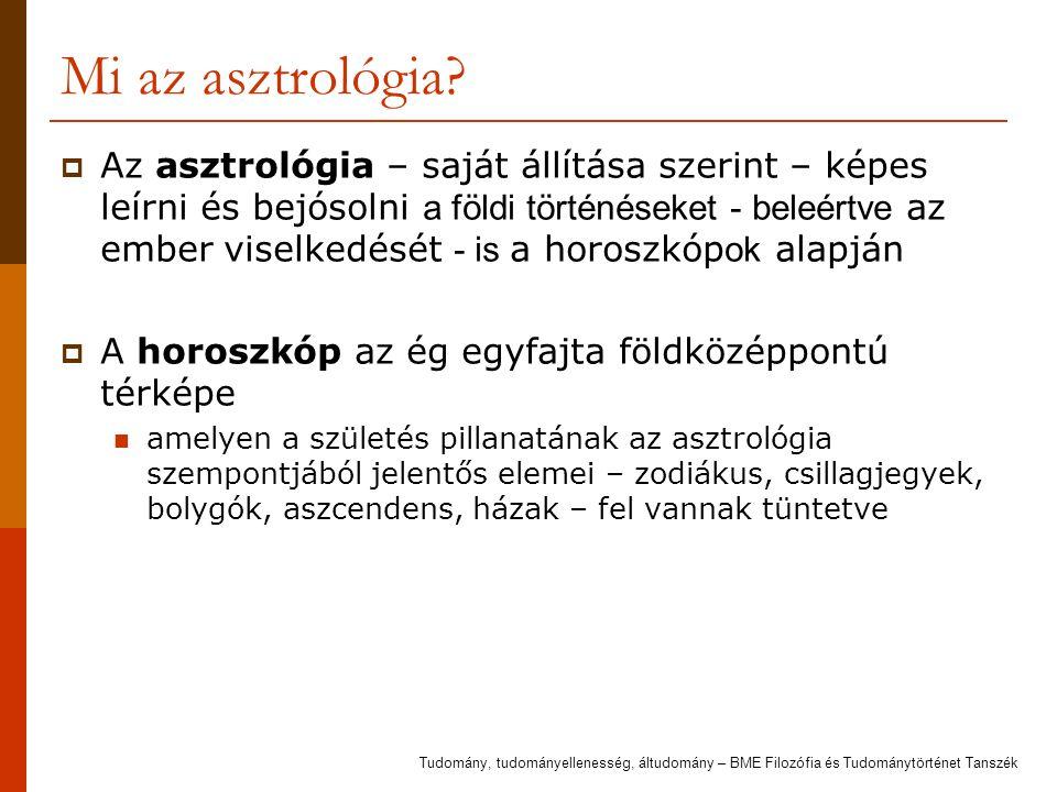 Mi az asztrológia