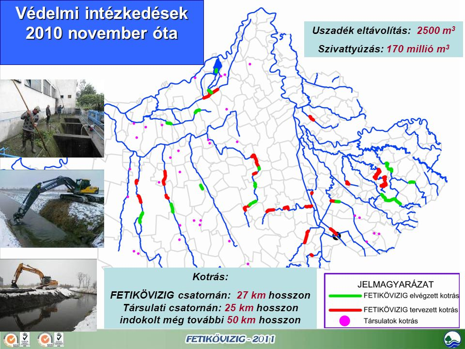Védelmi intézkedések 2010 november óta
