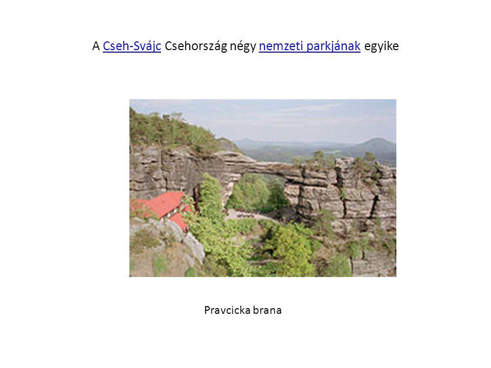 A Cseh-Svájc Csehország négy nemzeti parkjának egyike
