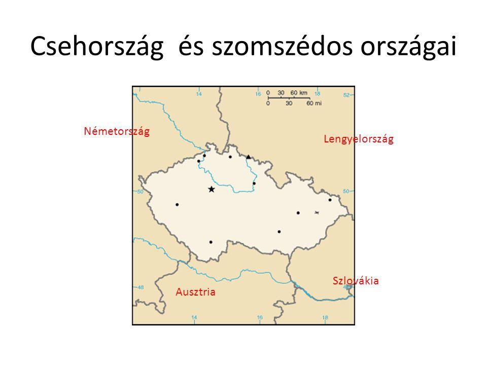 Csehország és szomszédos országai