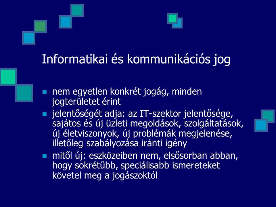 Informatikai és kommunikációs jog