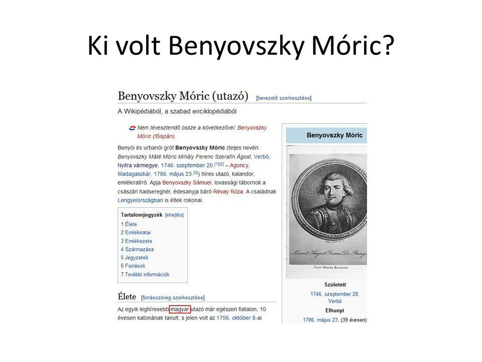 Ki volt Benyovszky Móric