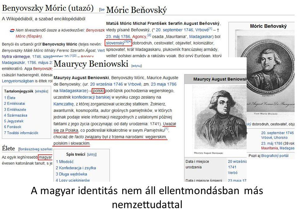A magyar identitás nem áll ellentmondásban más nemzettudattal
