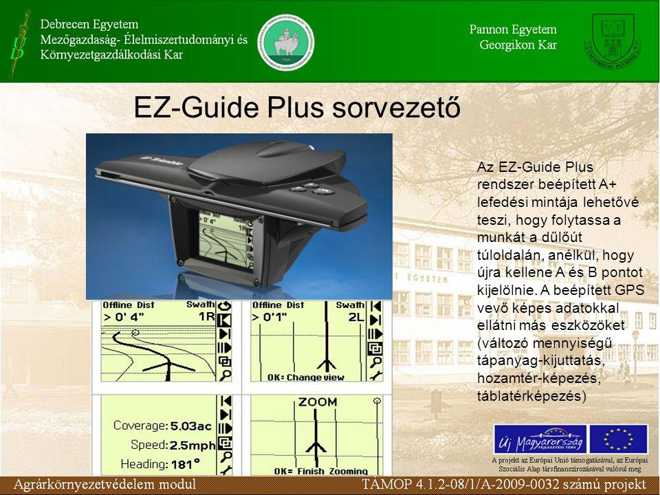 EZ-Guide Plus sorvezető