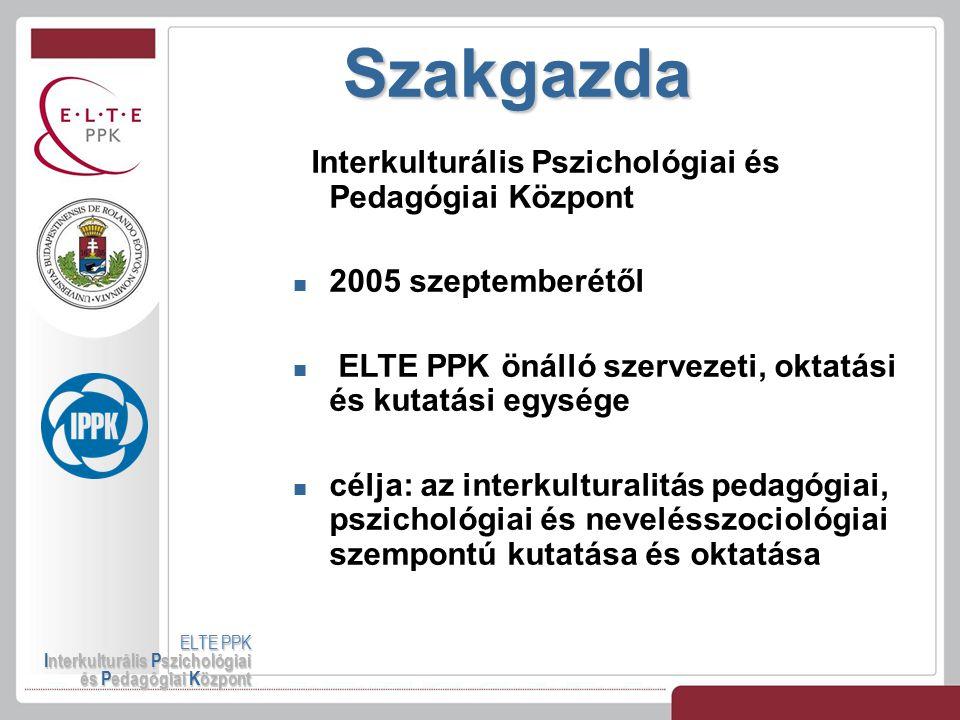Szakgazda Interkulturális Pszichológiai és Pedagógiai Központ