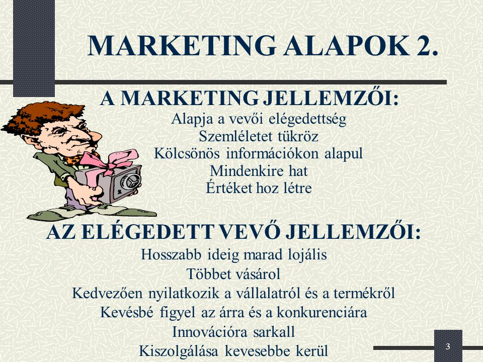 MARKETING ALAPOK 2.