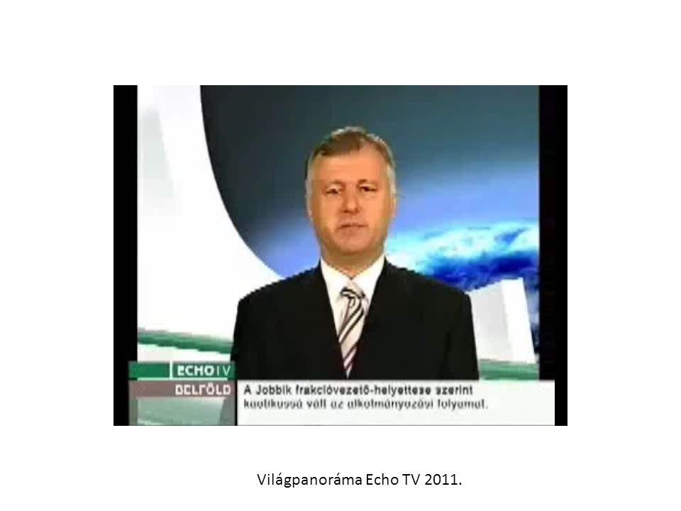 Világpanoráma Echo TV 2011.