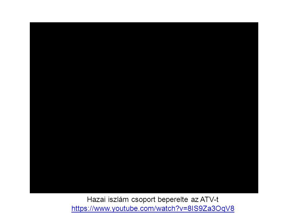 Hazai iszlám csoport beperelte az ATV-t
