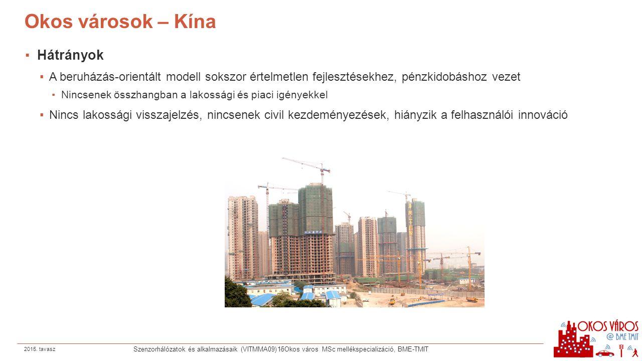 Okos városok – Kína Hátrányok