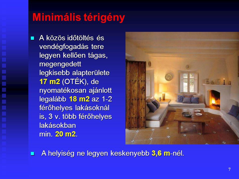 Minimális térigény