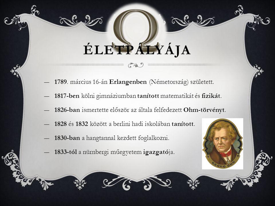 Életpályája 1789. március 16-án Erlangenben (Németország) született.