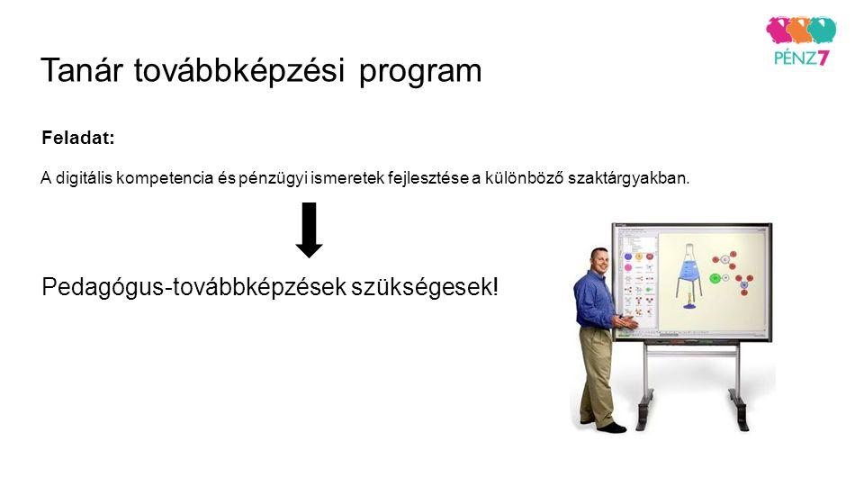 Tanár továbbképzési program