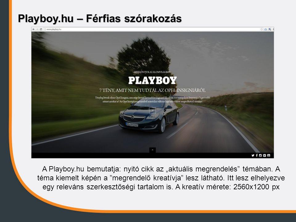 Playboy.hu – Férfias szórakozás