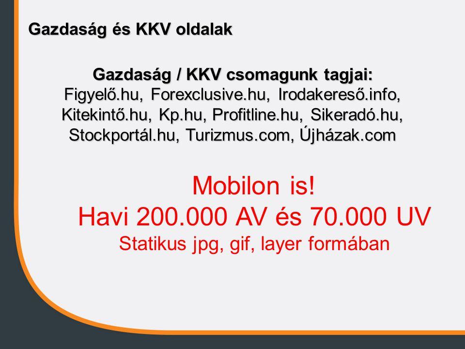 Gazdaság / KKV csomagunk tagjai: