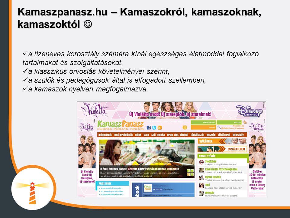 Kamaszpanasz.hu – Kamaszokról, kamaszoknak, kamaszoktól 