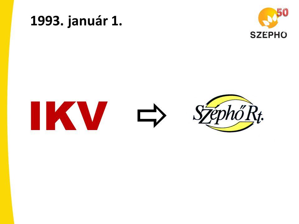 50 1993. január 1. IKV 