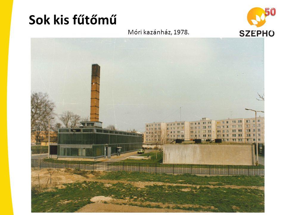 50 Sok kis fűtőmű Móri kazánház, 1978.