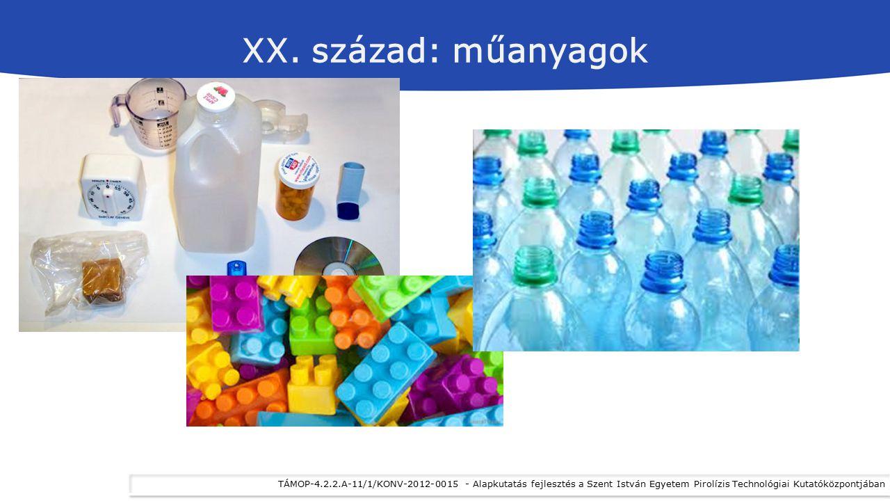 XX. század: műanyagok