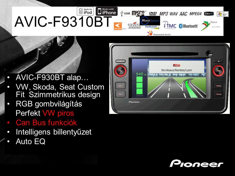 AVIC-F9310BT AVIC-F930BT alap…