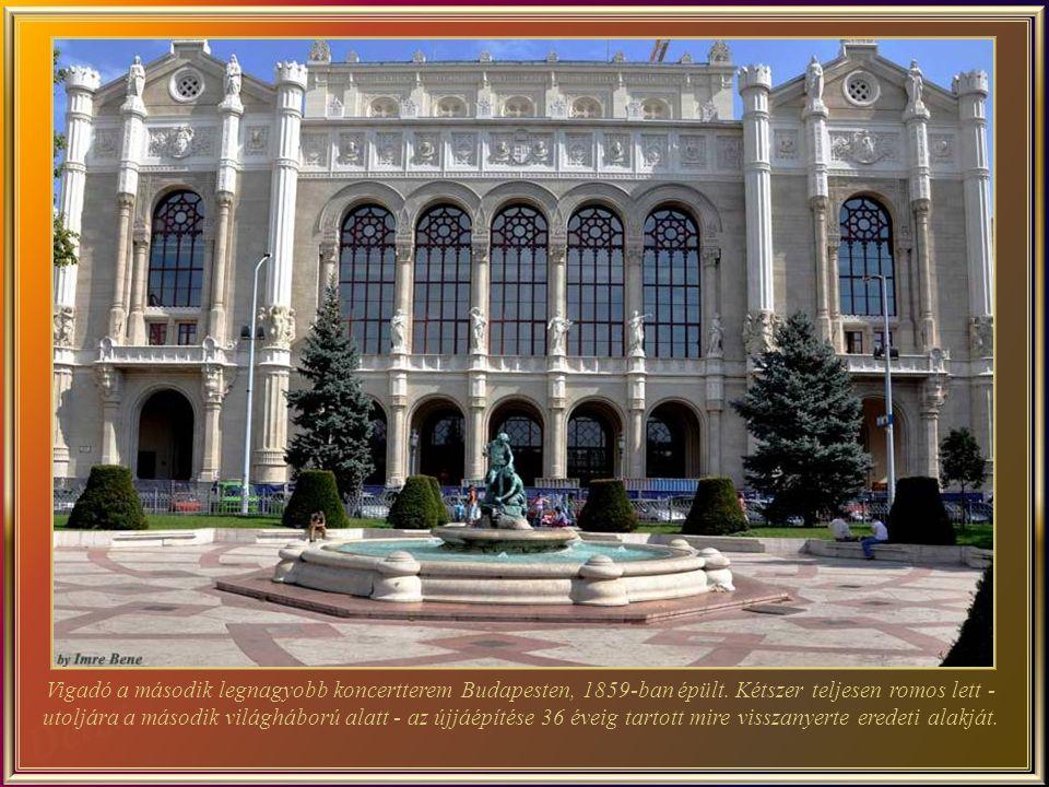 Vigadó a második legnagyobb koncertterem Budapesten, 1859-ban épült