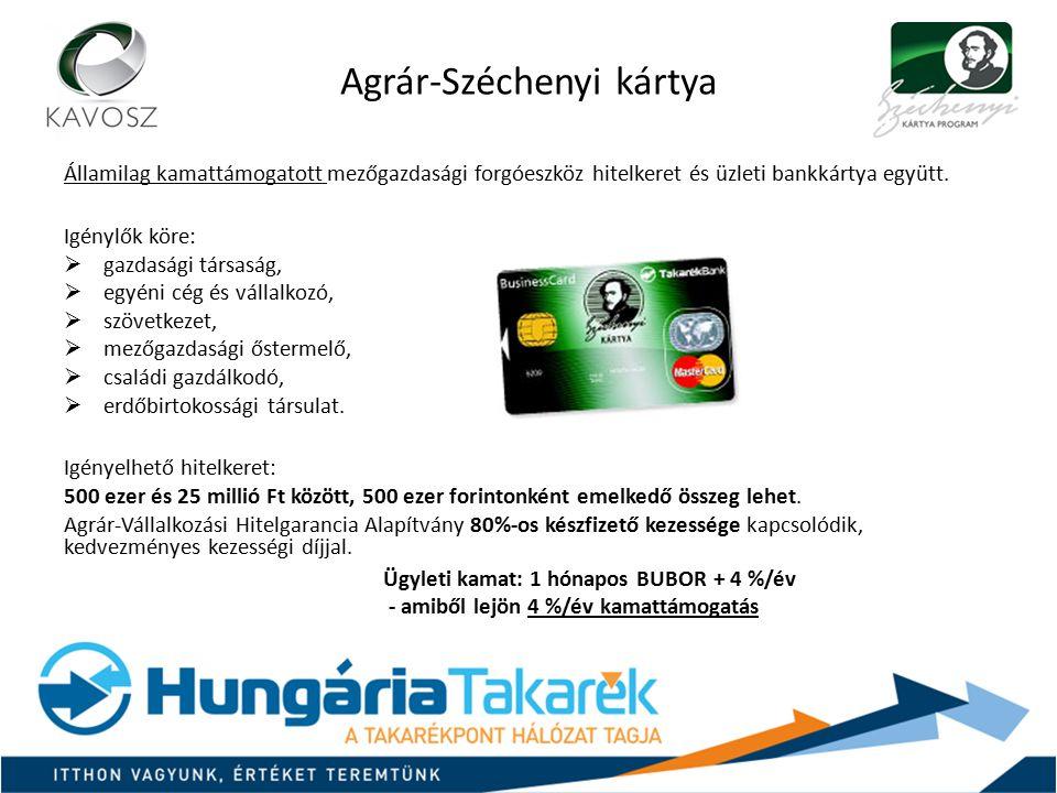 Agrár-Széchenyi kártya