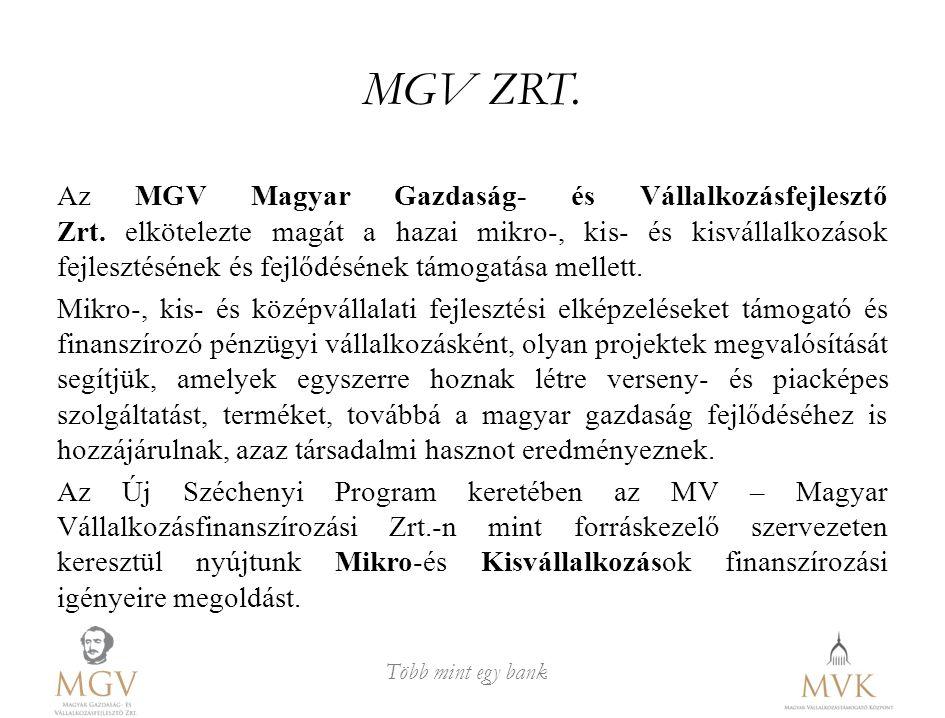 MGV ZRT.