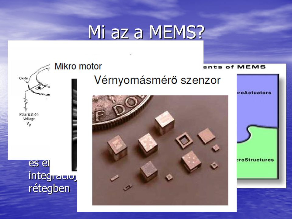 Mi az a MEMS Micro Electro-Mechanical Systems