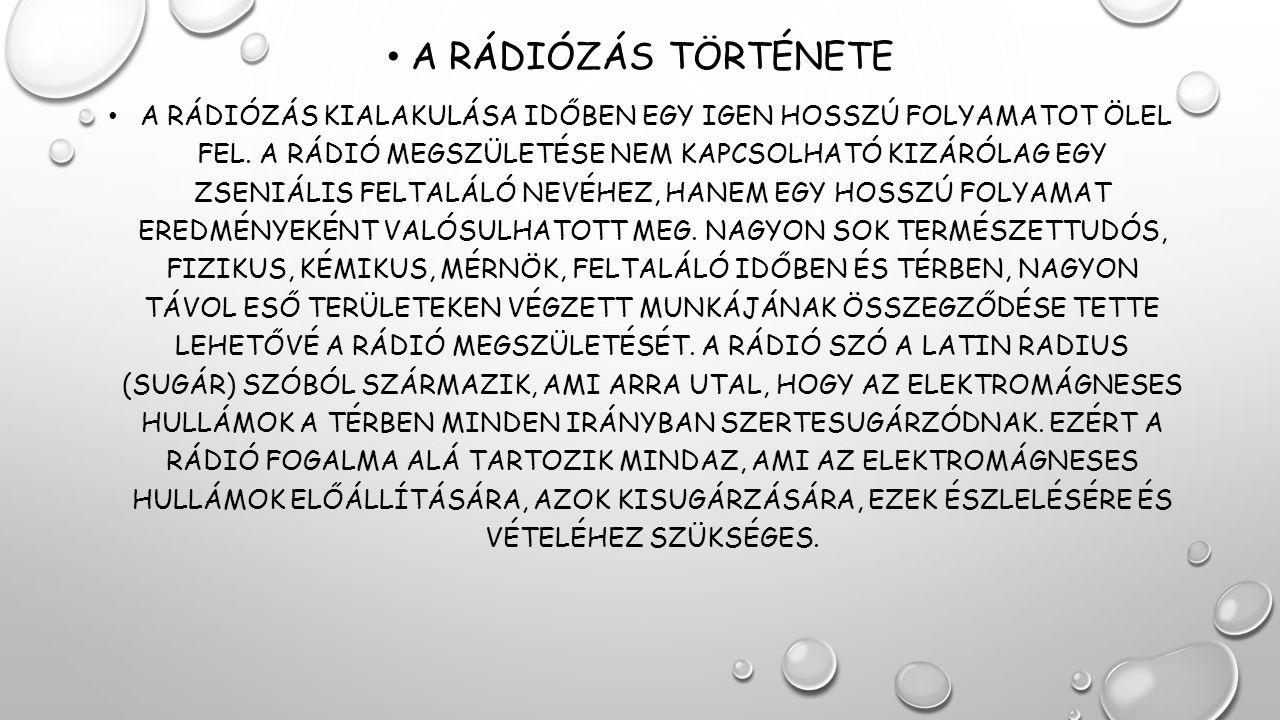 A rádiózás története