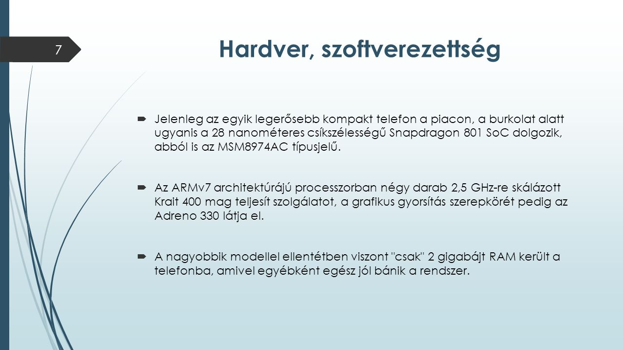 Hardver, szoftverezettség