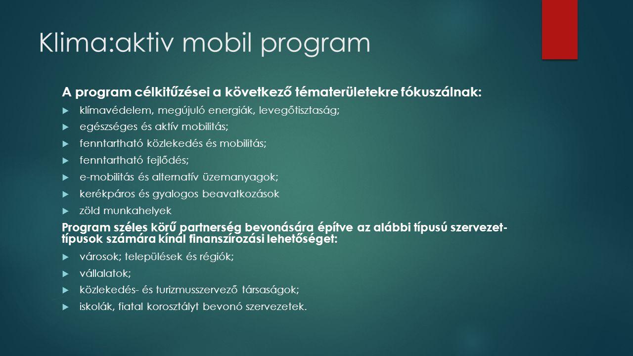 Klima:aktiv mobil program