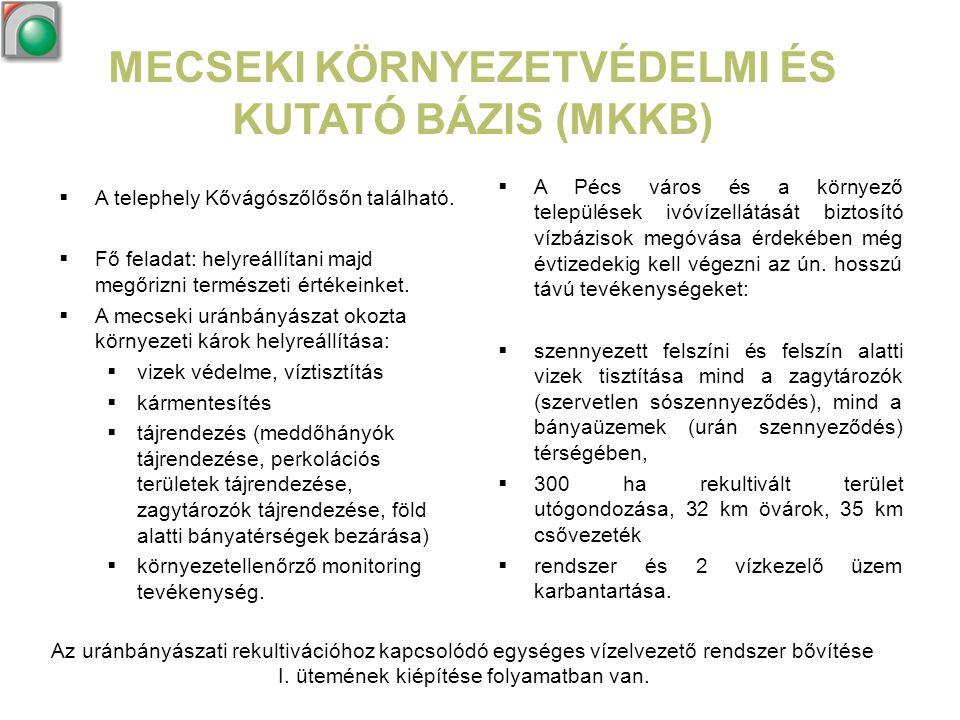 MECSEKI KÖRNYEZETVÉDELMI ÉS KUTATÓ BÁZIS (MKKB)