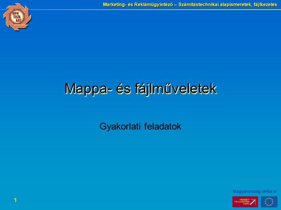 Mappa- és fájlműveletek