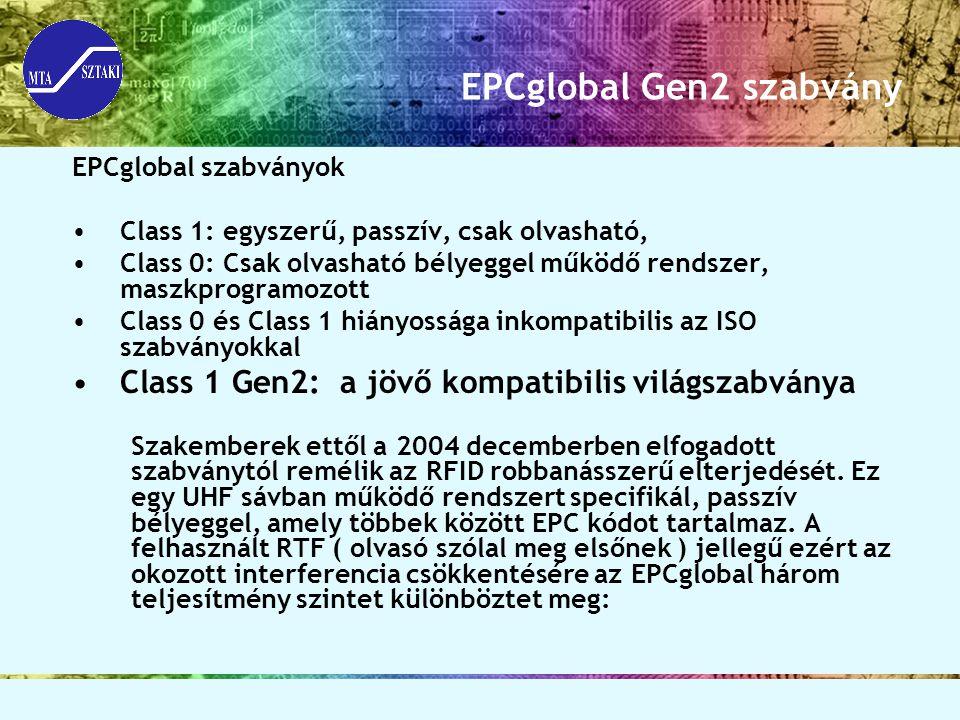 EPCglobal Gen2 szabvány
