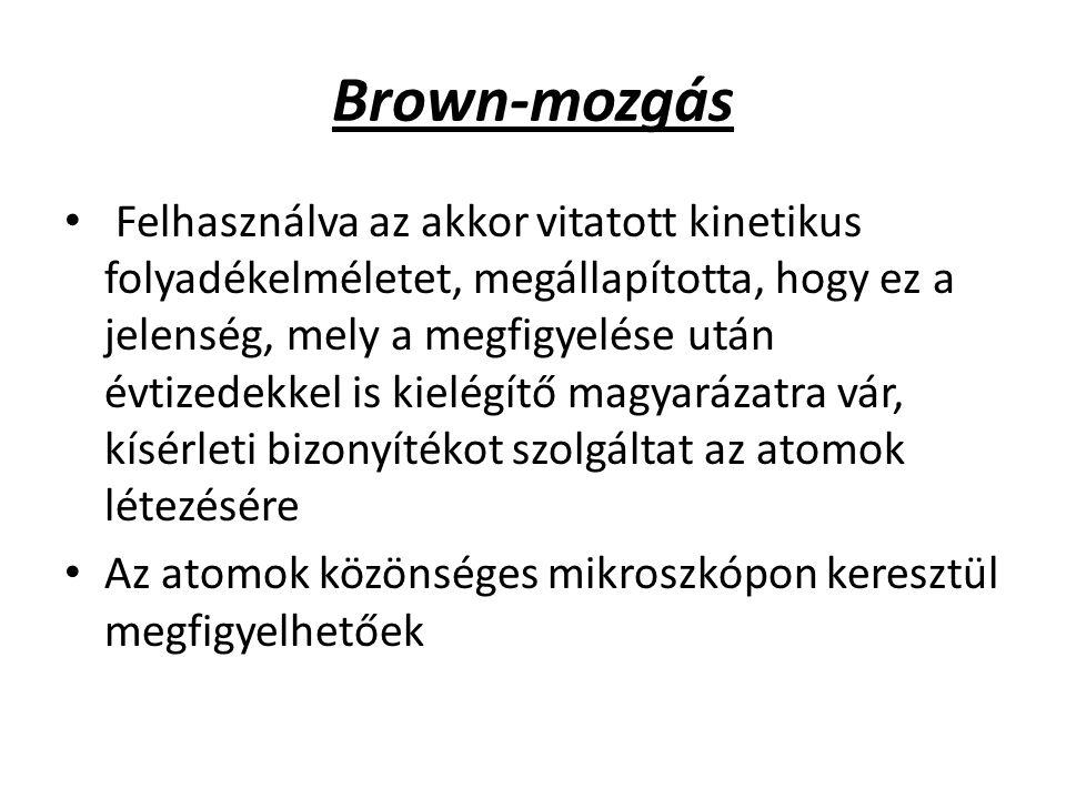 Brown-mozgás