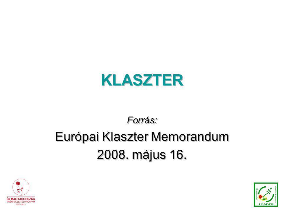 Európai Klaszter Memorandum
