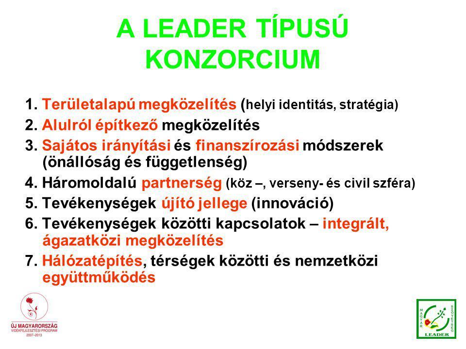 A LEADER TÍPUSÚ KONZORCIUM