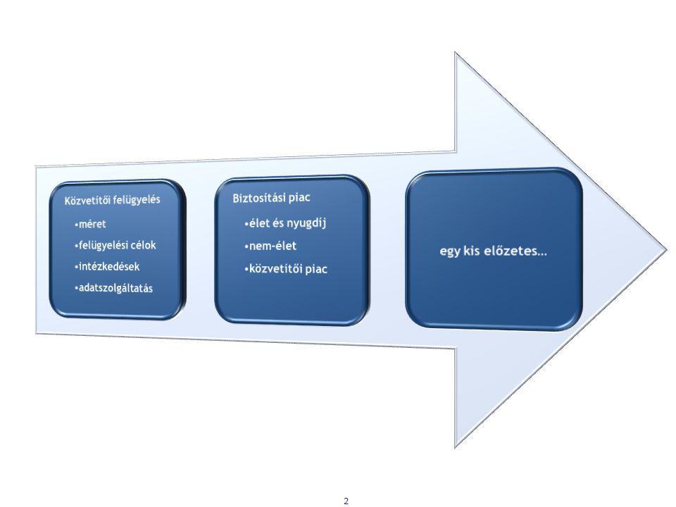 Közvetítői felügyelés méret felügyelési célok intézkedések