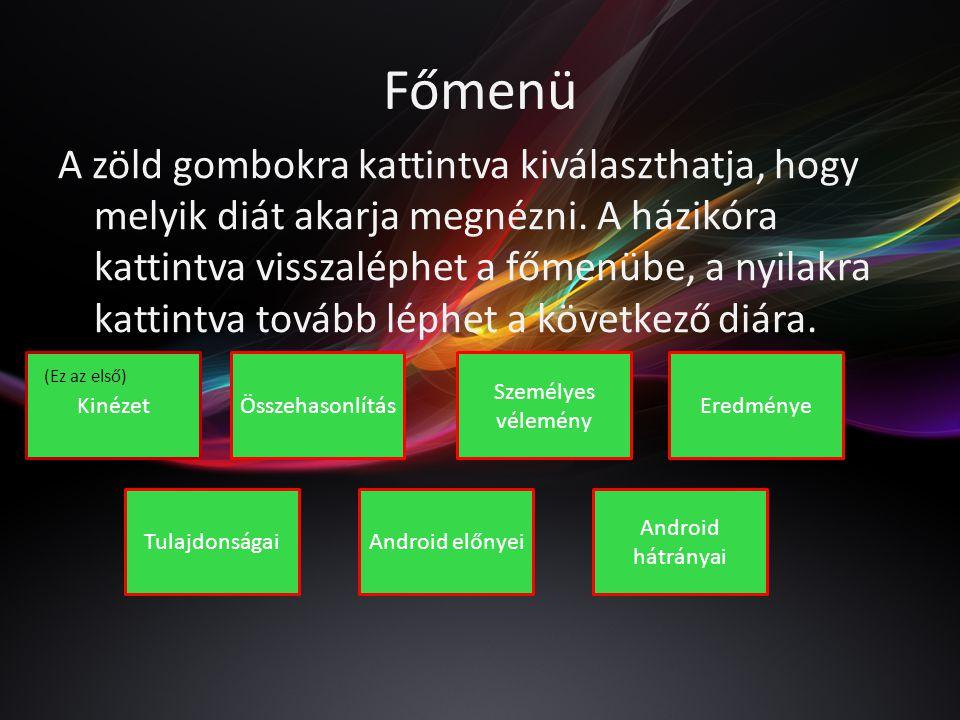 Főmenü