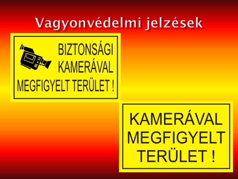 Vagyonvédelmi jelzések