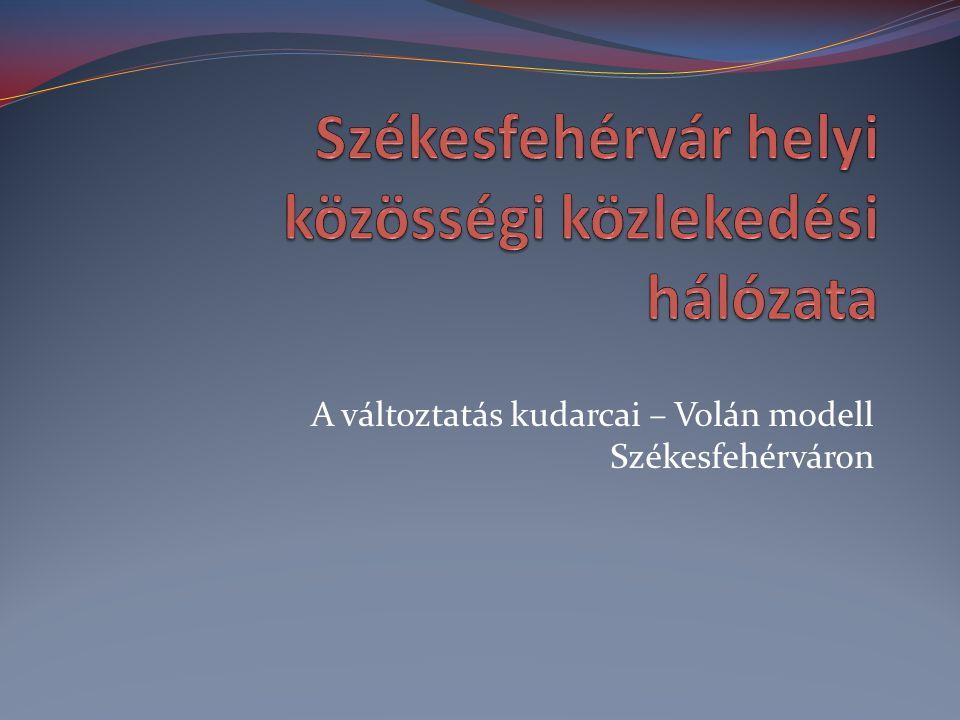 Székesfehérvár helyi közösségi közlekedési hálózata