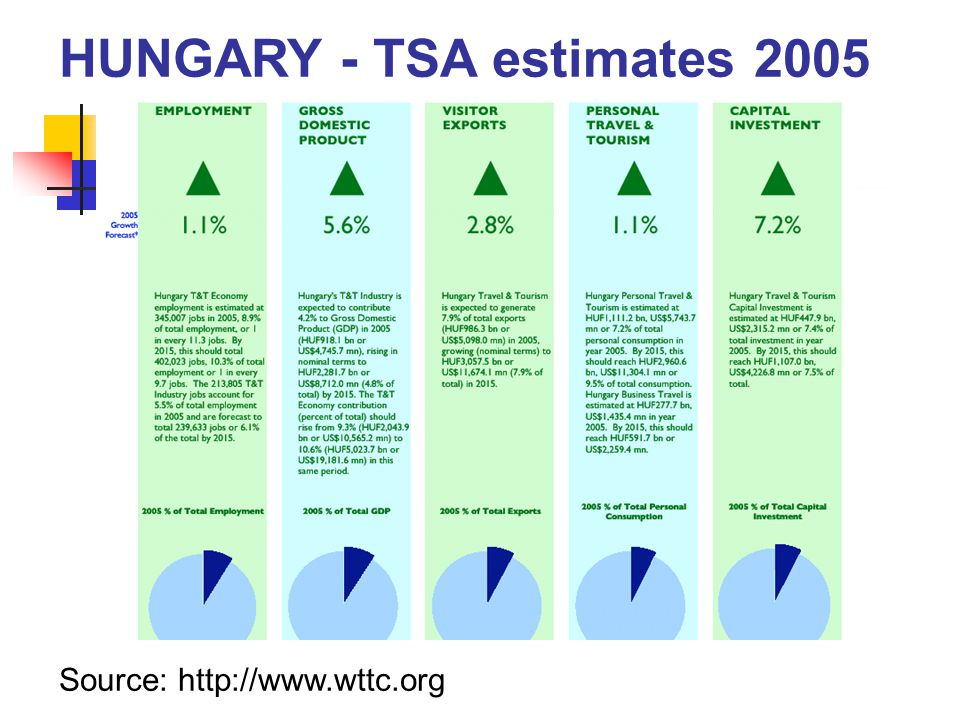 HUNGARY - TSA estimates 2005