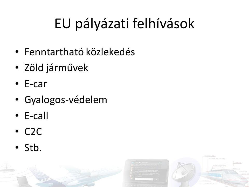 EU pályázati felhívások