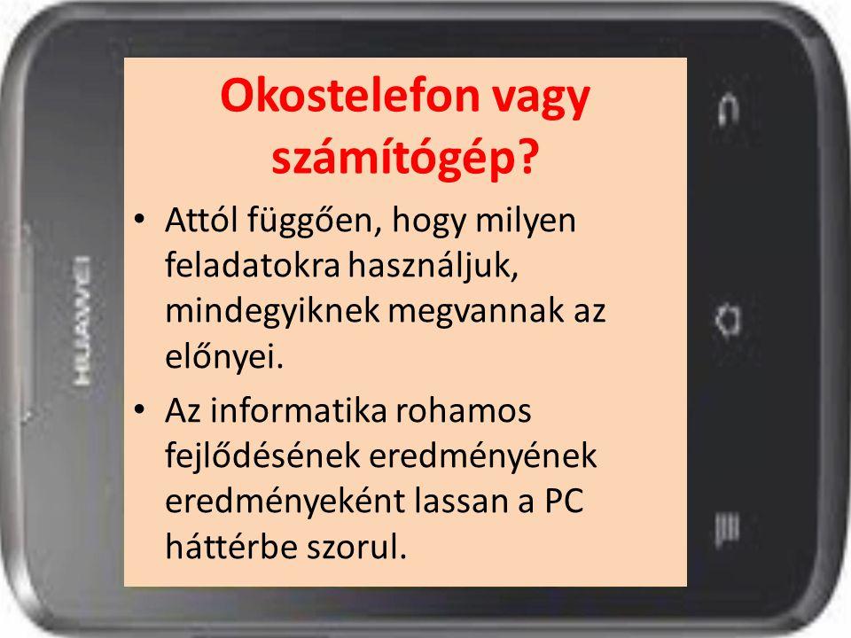 Okostelefon vagy számítógép